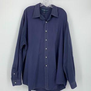 Ralph Lauren Button Down Long Sleeve Shirt XXL